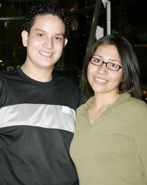 Eduardo Orduña  e Idaly Arellano