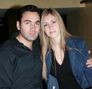Horacio González y Ana de González