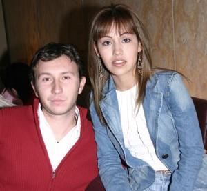 Lily Méndez y Alex Vázquez.