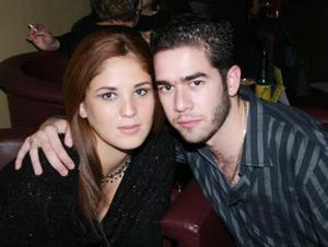 Sandra Villa y Miguel Vesuña.