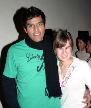 <b>12 de enero de 2005</b> <p> Mauricio Ruvalcaba y Cristina Alcalde.