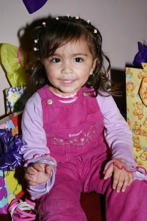 Pamela Alejandra Martínez Padilla cumplió  cinco años de  vida,  y los celebró  con una bonita fiesta.