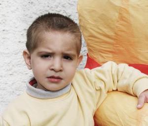 Diego Plasencia Fernández festejó su segundo cumpleaños con una fiesta infantil.