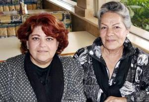 Olga Leticia Ramírez y Elisa Campos