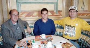 Camilo Mexsen, Héctor Jaidar y José Antonio Torres.
