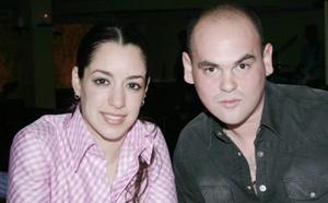 Daniela Natera y Adrián Ortiz.