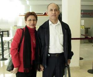 Adán Scott Aguirre y Martha Pérez viajaron a Oaxaca