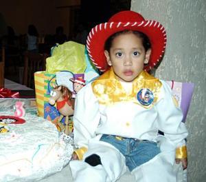 <b>14 de enero de 2005</b> <p> Nitzia Carolina Gutiérrez Escobedo cumplió tres años de vida.
