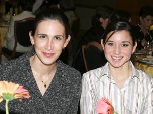 Cristina Viesca y Leticia Sada.