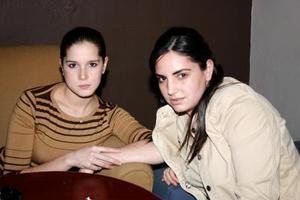 <b>14 de enero de 2005</b> <p> Montse Limón y Ani Marcos