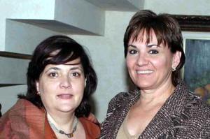 Laura Eraña y Mariana de Haro.