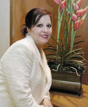 Rosalía Mena de Bitar, en reciente convivio.