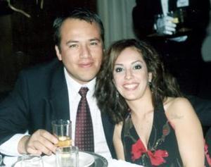 <b>15 de enero de 2005</b> <p> José Guerrero López y Ana Sofía Urquizo Leal.