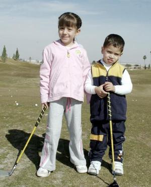 <b>17 de enero de 2005</b> <p> Maria Bello y Sergio González.