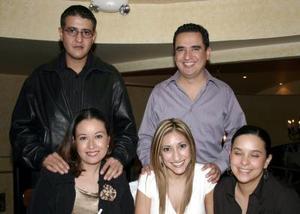 Ana Cecilia Quintero, Mayela Castellanos del Río, Ana Peña Marco A.  Morales y Érik Fernández.