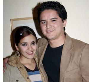 Lupita Katsicas y Román Eguía.