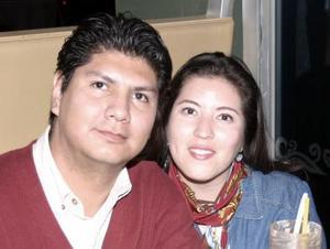 Manuel Rivera y Lorena de Rivera.