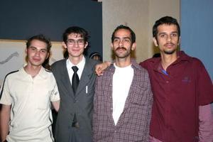 Javier Salmón, Oscar del Bosque, German Craviotto y Antonio Craviotto.