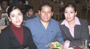 Rebeca Ortega, Gerado Ortega y Laura de Ortega