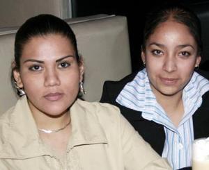 Verónica González y Érika  Cárdenas