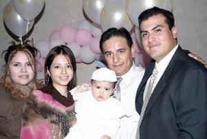 Gabriel Camacho Lara, Brenda Ivonne Cortez  Márquez, Miguel García Muñiz,  Karla Cortez Márquez y el pequeño  Gabriel Rodolfo  Camacho Cortez, en pasado acontecimiento