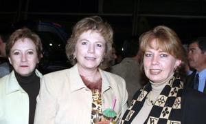 Luz María  de Russek, La wrrette de Aguilera y Bonnie de Carrillo.