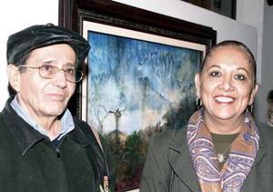 Dagoberto Proo y Mariana Marín