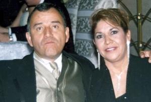 Ismael de Anda y Rita de Anda..