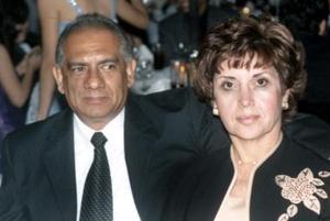 Uriel  Huízar y Delia  González de Huízar..