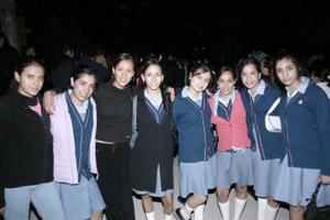 <b>20 de enero de 2005</b> <p>  Zaira, Mariana, Bárbara, Marcelita, Chepina, Ale, Cecy y Karime.