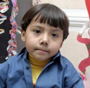 <b>21 de enero de 2005</b> <p> Diego Gómez Cortez  festejó su quinto cumpleaños.
