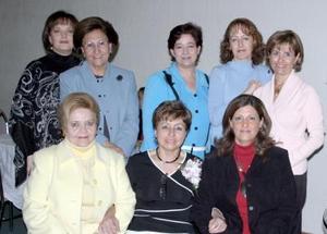 Mesa directiva del Club Isabel la Católica.