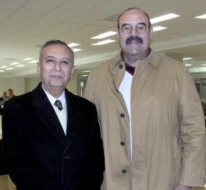 Carlos Ramos y Víctor Ruiz viajaron a la ciudad de México..