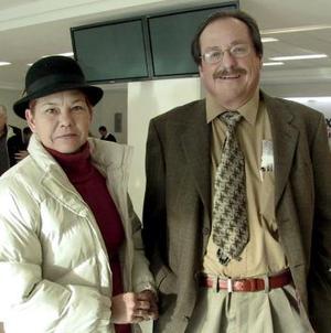 <b>20 de enero de 2005</b> <p> Juan Antonio Sánchez y Elizabeth Ann  viajaron al Distrito Federal.