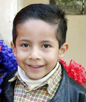 Gonzalo Emmanuel Medrano celebró  su quinto cumpleaños.