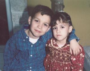 José David Saldaña Sleiman e Ilse  Saldaña Sheiman, captados recientemente.