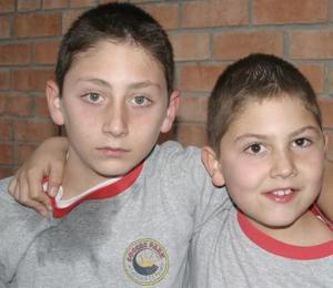 Luis Javier y Ángel Gilio.