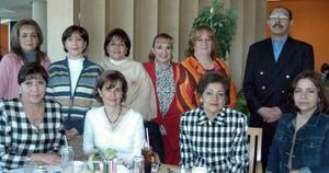 Lilia García, Ninfa Ríos, Ana María Martínez, Olivia Hernández, Humebrto Aldana, Ana Isabel Aragón, Bessy Murra Miryam Pérez, María Ángeles y Dora Alicia Alonso