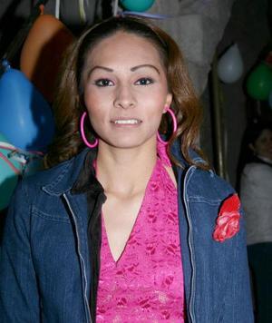 Maria Elena Alcala Franco celebro su cumpleaños en dias pasados