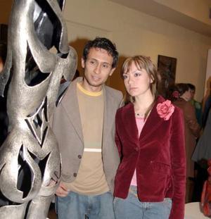 Andrés Hernández y Frida Alicia Iduñate.