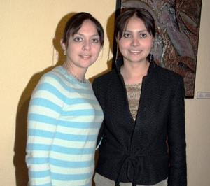 Diana Acosta y María Márquez.