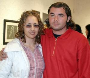 Fabiola Galván y Víctor Elizalde.
