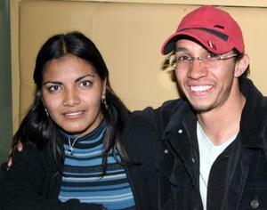 Ivonne Salazar y Manuel Salinas.