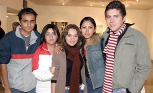José Román, Delia Muñoz, Aída Martínez, Mónica Cervantes y carlos Longoria.