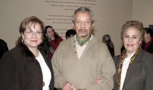 Cecilia González, Mario Zaragoza y Rosa María de Zaragoza