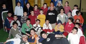 <b>24 de enero de 2005</b> <p> Raymundo Murra Garza  celebró su cumpleaños número nueve acompado de  familiares y amigos.