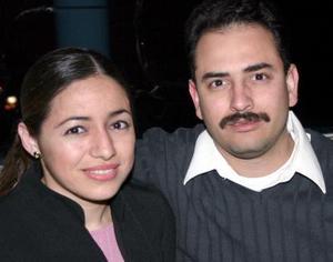 Ana Sánchez y  Rubén Darío Muñoz