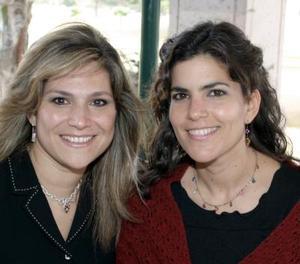 Lorena de Vargas y Gabriela de Núñez