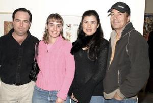Alberto Siller, Emma Siller, Estrella de Salcido y Jorge Salcido.