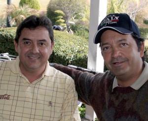 Alfonso de la Garza y César Olvera